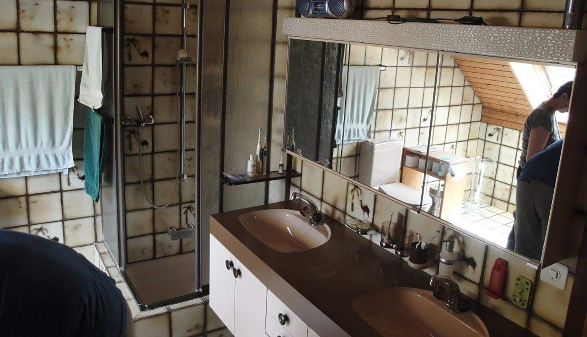 Umbau eines 9er-Jahre Badezimmers HAUSmagazin
